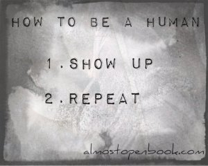how to be a human